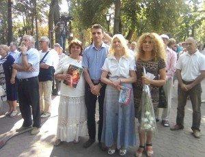 Aleea Clasicilor, Mihai Cimpoi, Daniel Verejanu